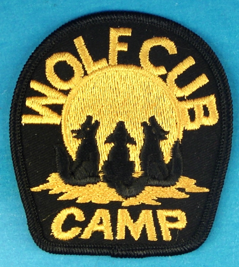 Wolf Cub Camping Patch Canadian