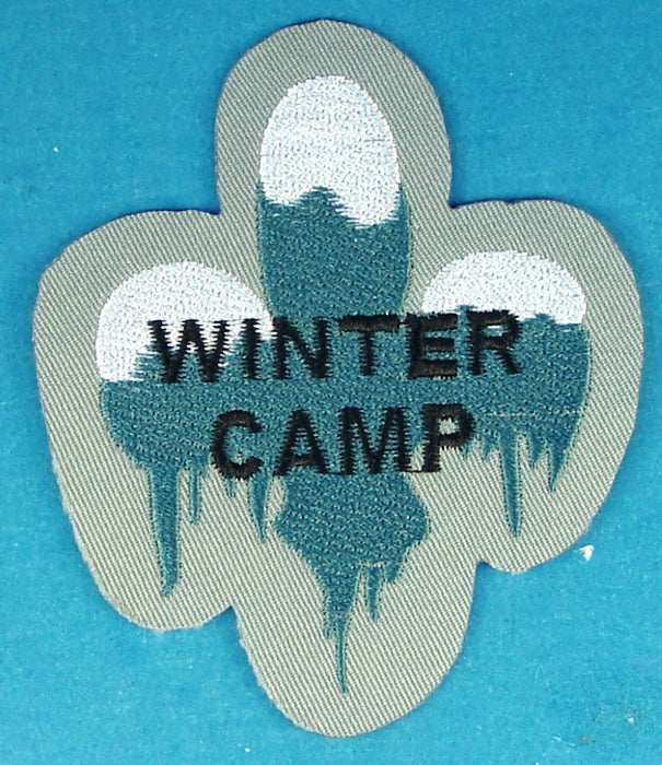 Winter Camp Patch Canadian