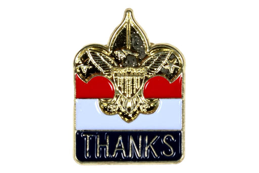 BSA Thanks Pin
