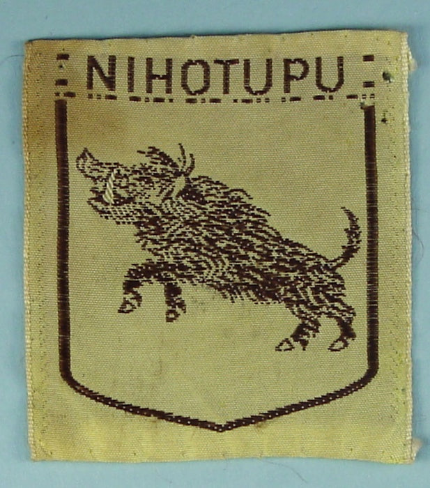 Nihotupu Silk Patch