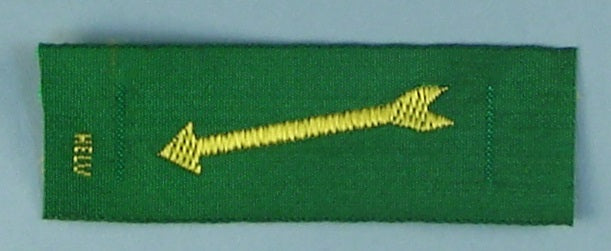 Arrow Silk Patch