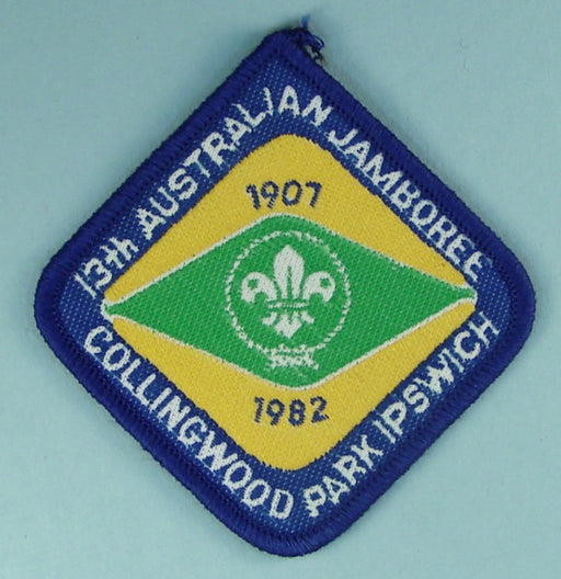 13th Australian Jamboree Patch 1982
