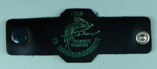 1980 4th Cumberland Jamboree Leather Neckerchief Slide