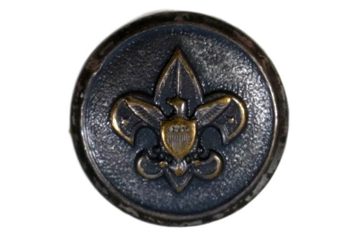 Metal Boy Scout Shirt Button 15mm