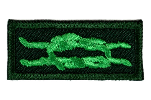 Scouter's Training Award Knot on Forest Green