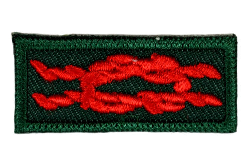 Heroism Award Knot on Forest Green