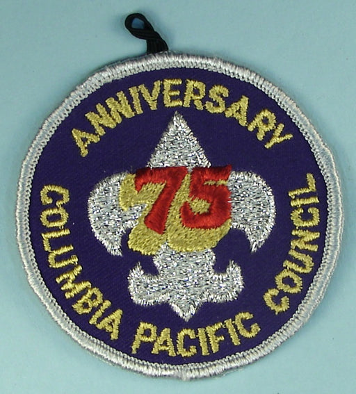 Columbia Pacific CP 75th Anniversary Patch