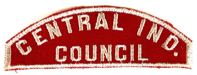 Central Ind. Red and White Council Strip