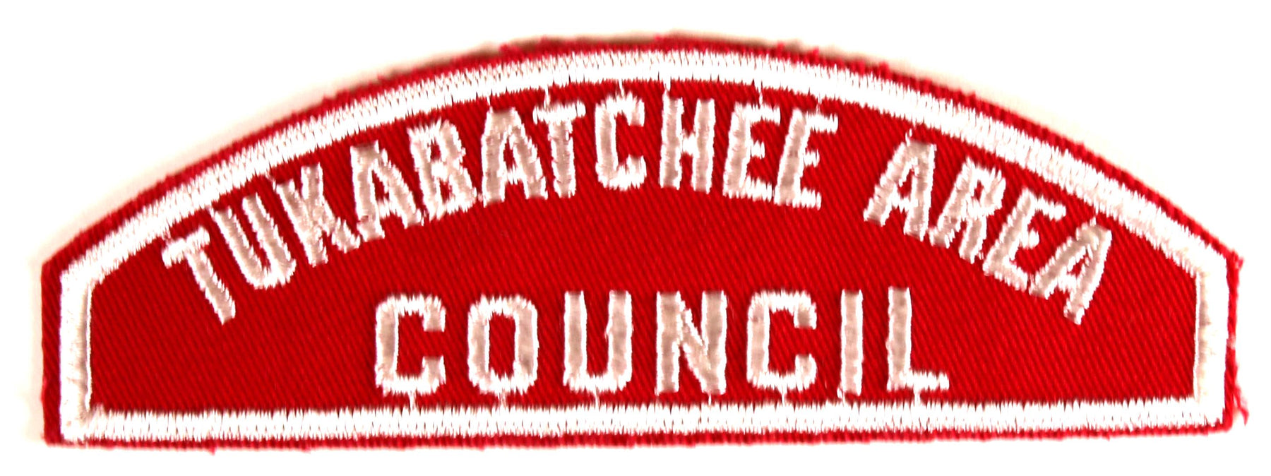 Tukabatchee Area Council Red and White Council Strip