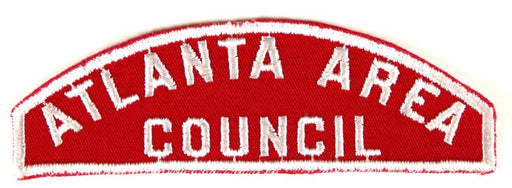 Atlanta Area Red and White Council Strip