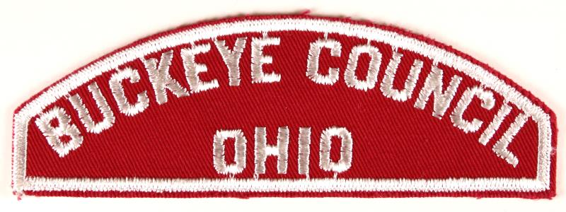 Buckeye Red and White Council Strip