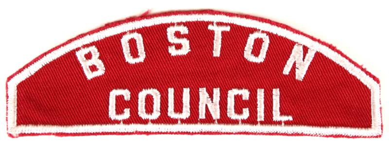 Boston Red and White Council Strip