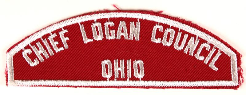 Chief Logan Red and White Council Strip