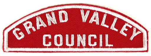 Grand Valley Red and White Council Strip
