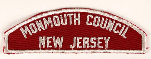 Monmouth Council Red and White Council Strip