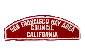 San Francisco Bay Area Council Red and White Council Strip