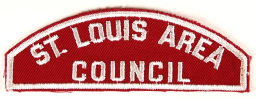 St. Louis Area Council Red and White Council Strip