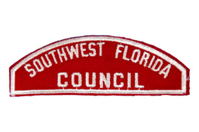 Southwest Florida Council Red and White Council Strip