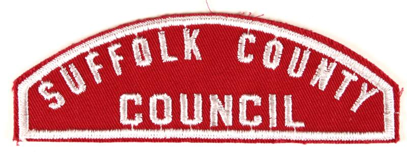 Suffolk County Council Red and White Council Strip