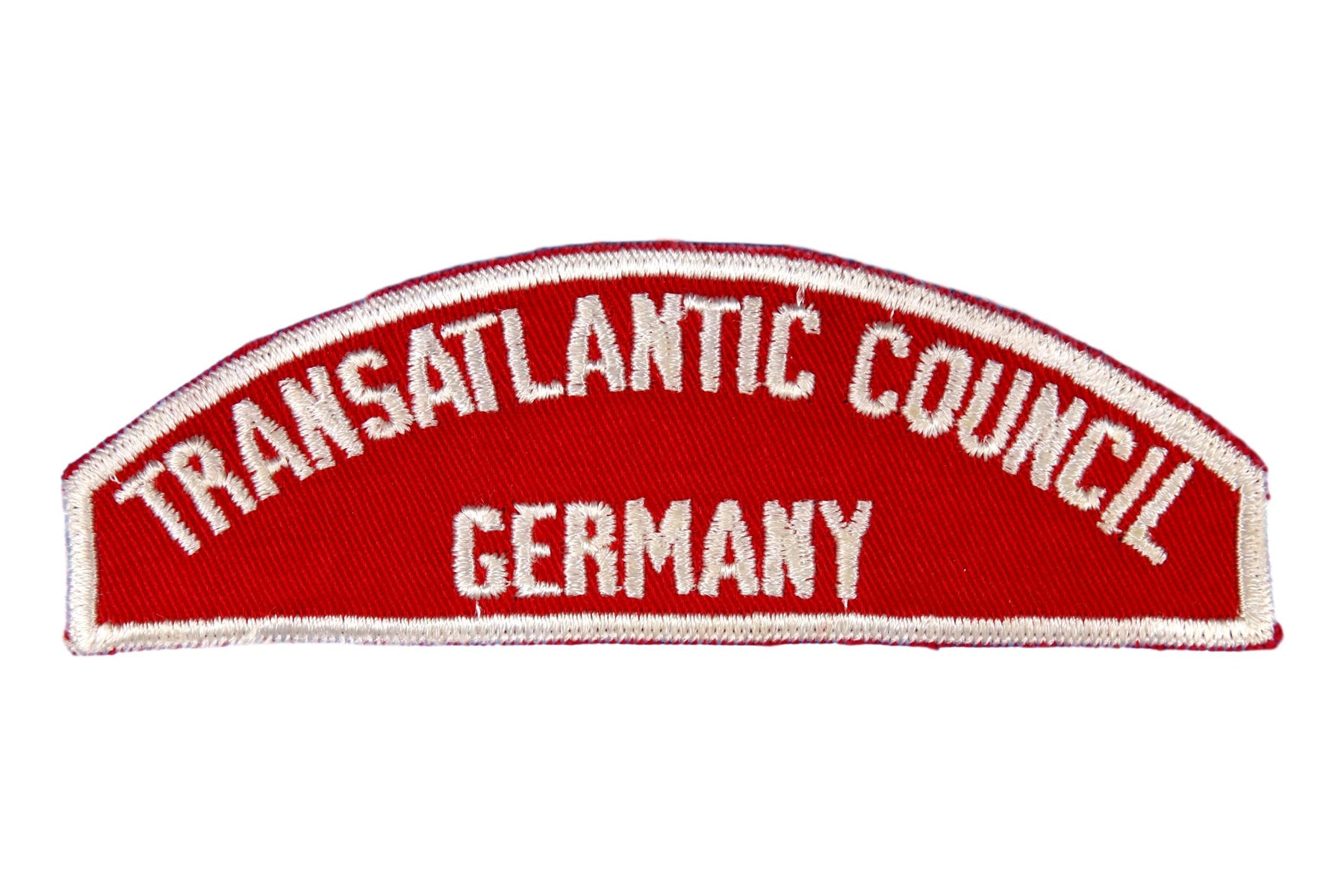 Transatlantic Council/Germany Red and White Council Strip
