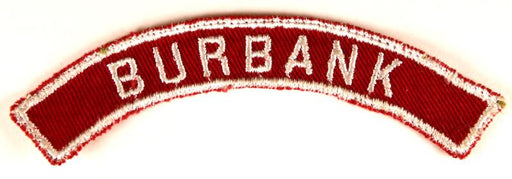 Burbank Red and White City Strip