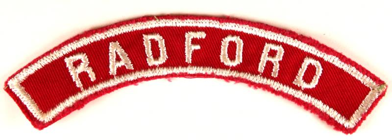 Radford Red and White City Strip