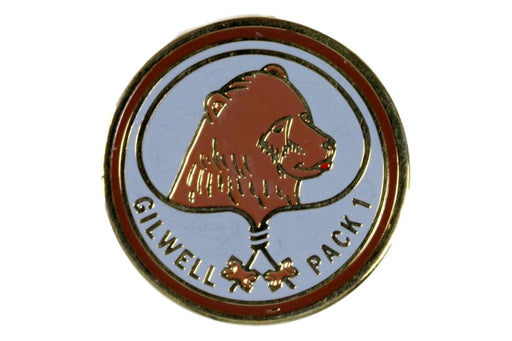 Wood Badge Gilwell Team 1 Fox Patch