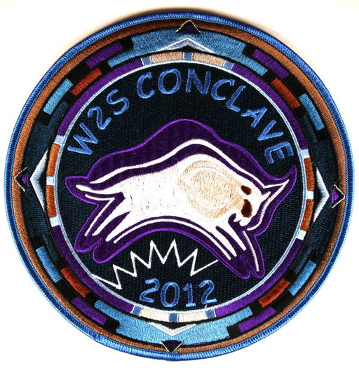 2012 Section W2S Conclave Patch Jacket