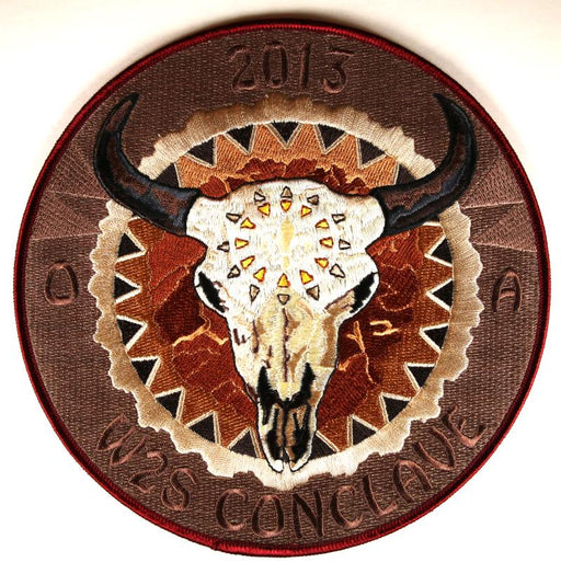 2013 Section W2S Conclave Patch Jacket