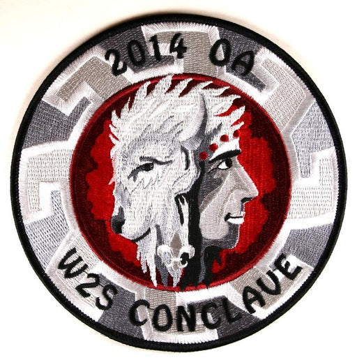 2014 Section W2S Conclave Patch Jacket