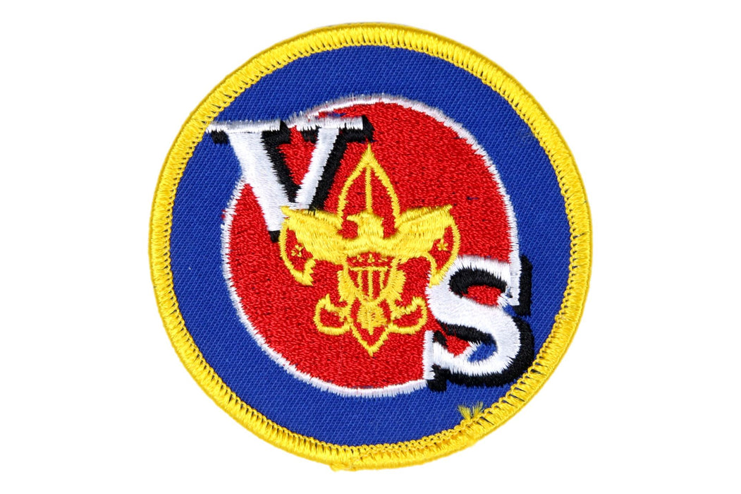 Varsity Scout Universal Patch Prototype Blue Background