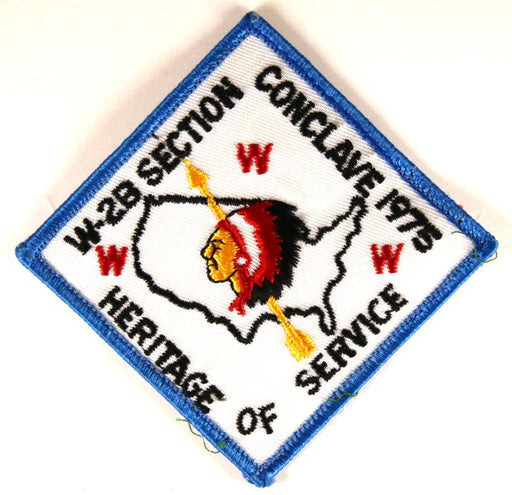 1975 Section W2B Conclave Patch