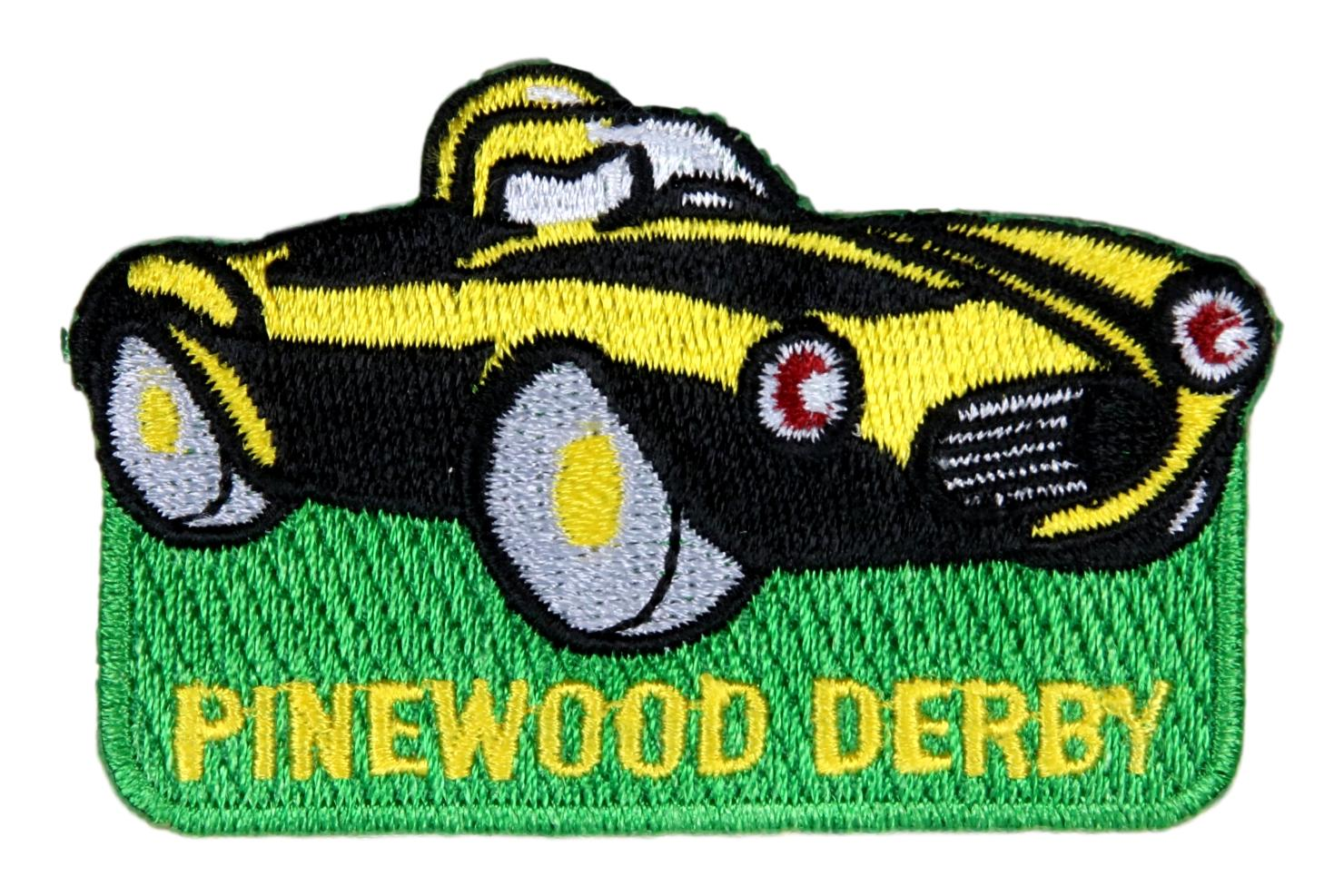Award - Pinewood Derby Patch