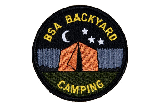BSA Backyard Camping Patch