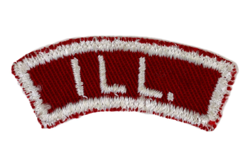 Illinois Red and White State Strip