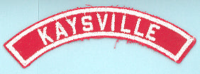 Kaysville Red and White City Strip