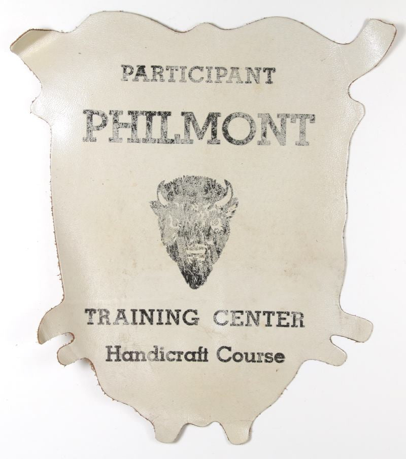 Philmont Training Center Handicraft Course Leather