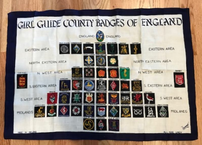 Girl Guides Linen Cloth