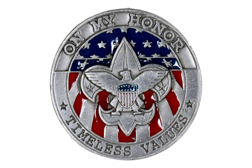 On My Honor Timeless Values Coin