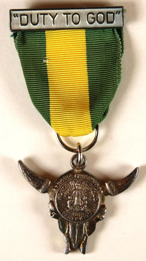 Duty to God Award Medal LDS Type 6B