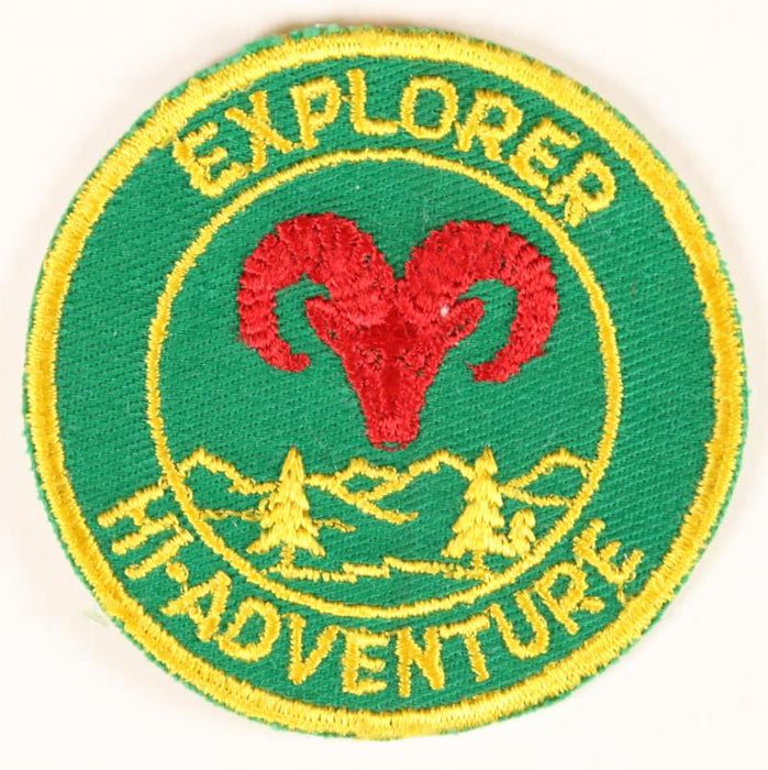 Explorer High Adventure Patch 1940s-50s