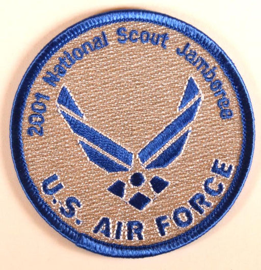 2001 NJ US Air Force Patch