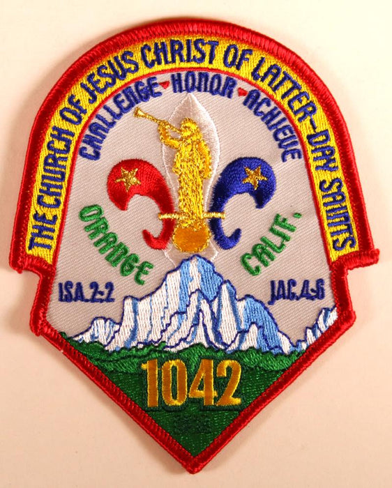 2001 Nj LDS California Patch