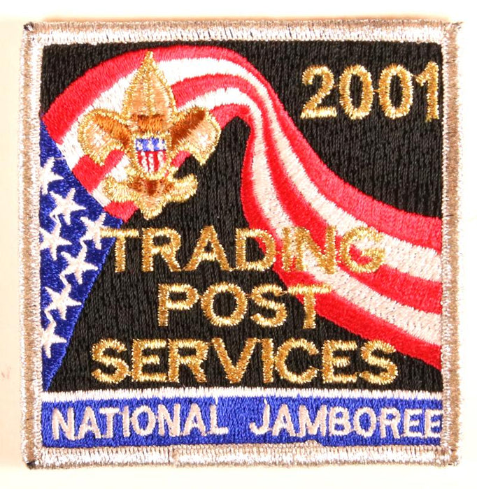 2001 Nj Trading Post Services Patch