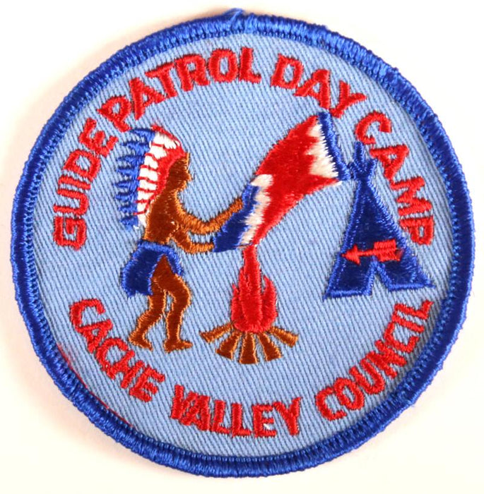 Cache Valley Guide Patrol Day Camp Patch