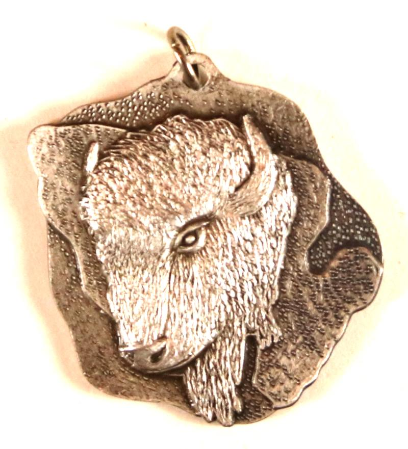 2010 Section W2S Conclave Buffalo Pendant