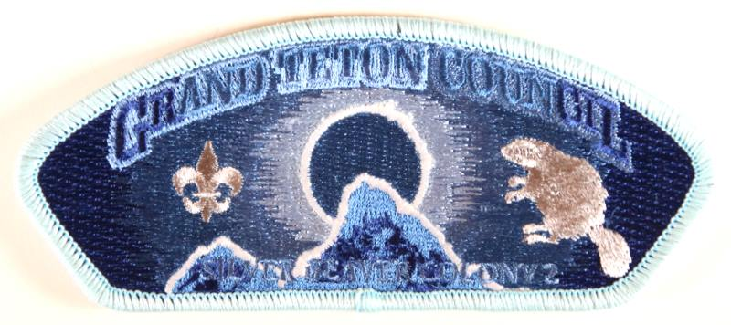 Grand Teton CSP SA-New Silver Beaver Light Blue Border