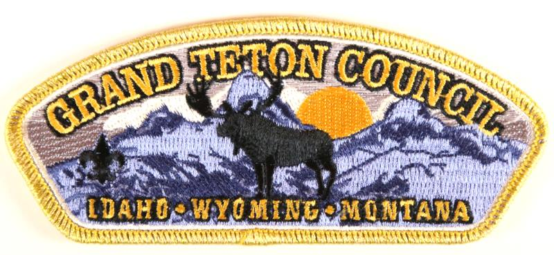 Grand Teton CSP SA-New Black Moose Gold Mylar Border