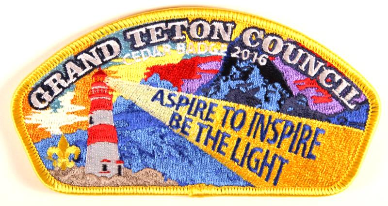 Grand Teton CSP SA-New Cedar Badge 2016 Yellow Border