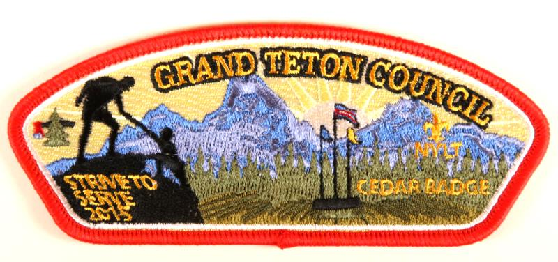 Grand Teton CSP SA-New Cedar Badge 2015 Red Border
